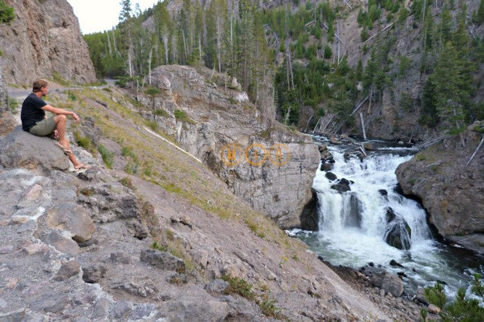 Firehole Falls Yellowstone