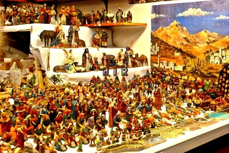 mercados de Navidad, Plaza Mayor, Madrid