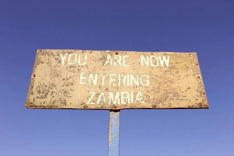 Cataratas Victoria desde el lado de Zambia