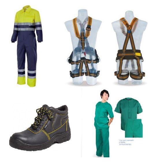Empresa de venta de ropa laboral y equipos de protección personal
