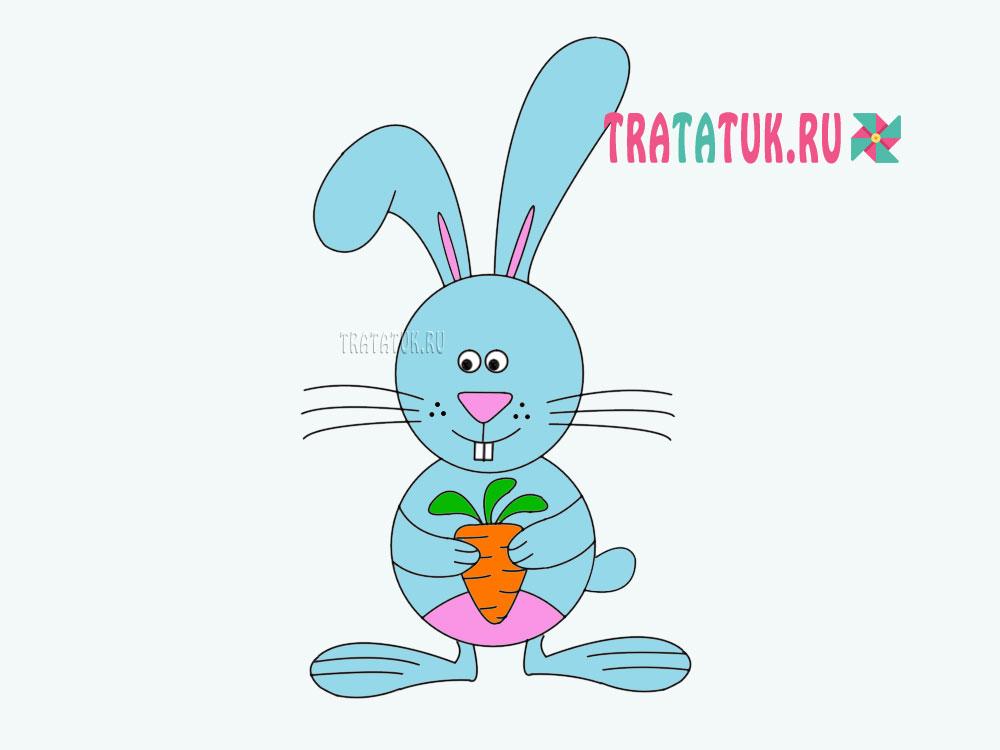 Làm thế nào để vẽ một chú thỏ trong giai đoạn