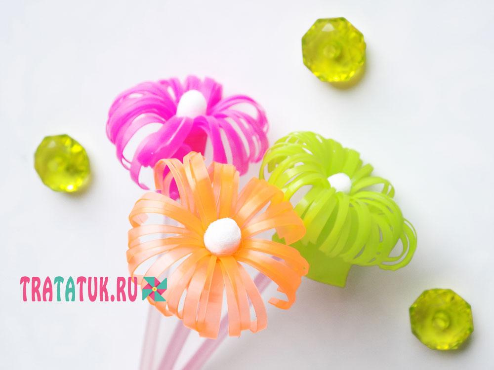 گل از لوله های کوکتل
