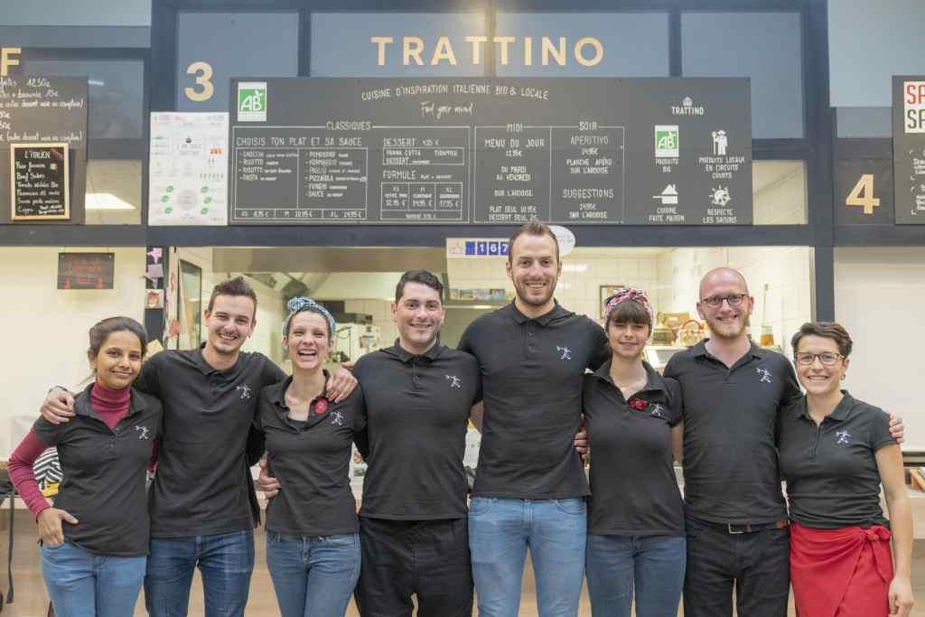Tratti'team cuisine d'inspiration italienne bio et locale