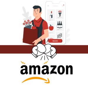 Petits commerces vs Amazon : Comment le vendeur numéro 1 de masque en tissu joue-t-il au Père Noël ?