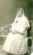 Эмилия Соломоновна Трауберг (ур.Вейланд, бабушка). Одесса, 1907