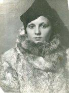 Вера Николаевна Ланде (мама). 1926