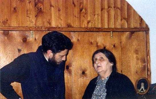 С испанским священником о. Исмаилом Баррос. Москва, 2000-е