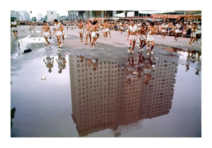 """""""Reflexo"""", série Carnaval, 1972-1976, Carlos Vergara - Pinakotheke"""