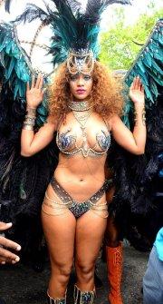 Rihanna @ Crop Over 2015