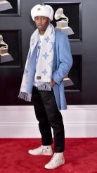 Grammy 2018: Tyler, the Creator, de Supreme, Louis Vuitton e Converse