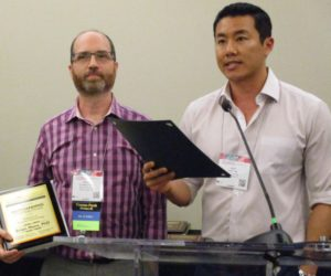 Brian Marx Receives Outstanding Contributions to Science Award