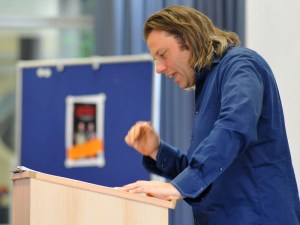 Lesung mit Jörg Nießen im BwK Ulm