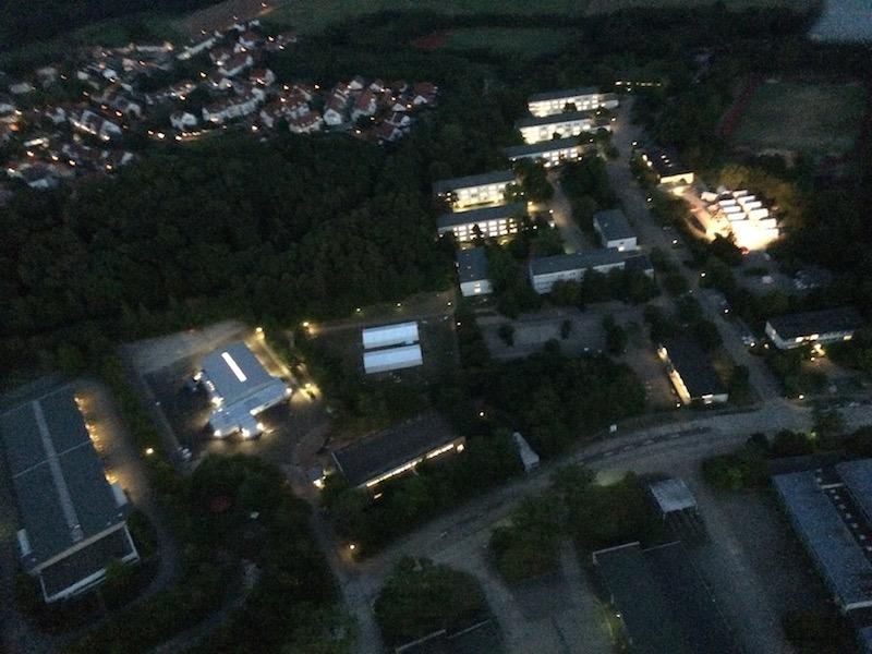 Luftaufnahme der LEA Ellwangen