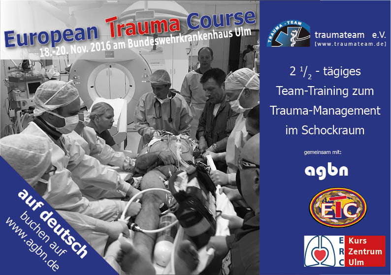 European Trauma Course Ulm