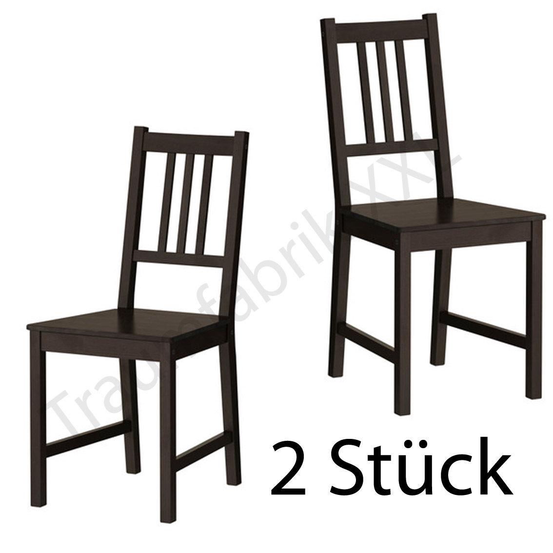 2xIKEA Küchenstuhl Stuhl Stühle Holzstuhl Kiefer ...
