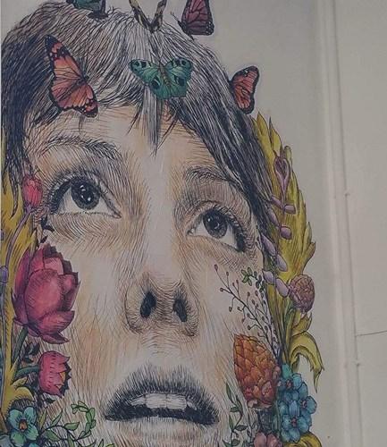 Schmetterlingsmädchen Athen