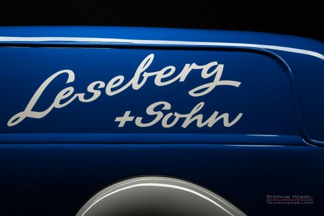 "Mercedes-Benz 170 V, Baujahr 1949, Detailansicht, Werbeaufschrift ""Leseberg + Sohn"", Oldtimer, Autofotografie: Stephan Hensel, Hamburg, Oldtimerfotograf, Autofotograf, Automobilfotograf, Oldtimerfotografie"