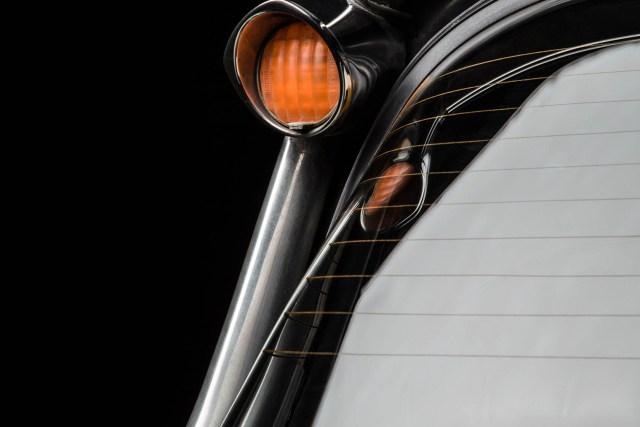 Citroën DS (DSuper5), Detailansicht Heckblinker links, Autofotograf: Stephan Hensel, Hamburg, Oldtimerfotografie