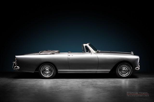 Bentley S2 Continental DHC, 1960, Seitenansicht, Autofotograf, Hamburg, Automobilfotograf, Oldtimerfotograf, Oldtimerfotografie, Car Photography, Stephan Hensel