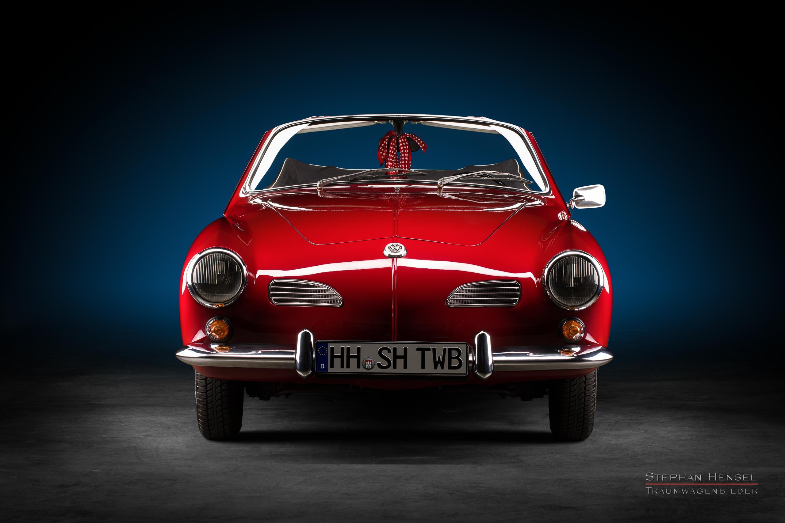 VW Karmann-Ghia Typ 14, 1967, Frontalansicht, Autofotograf, Hamburg, Automobilfotograf, Oldtimerfotograf, Oldtimerfotografie, Car Photography, Stephan Hensel