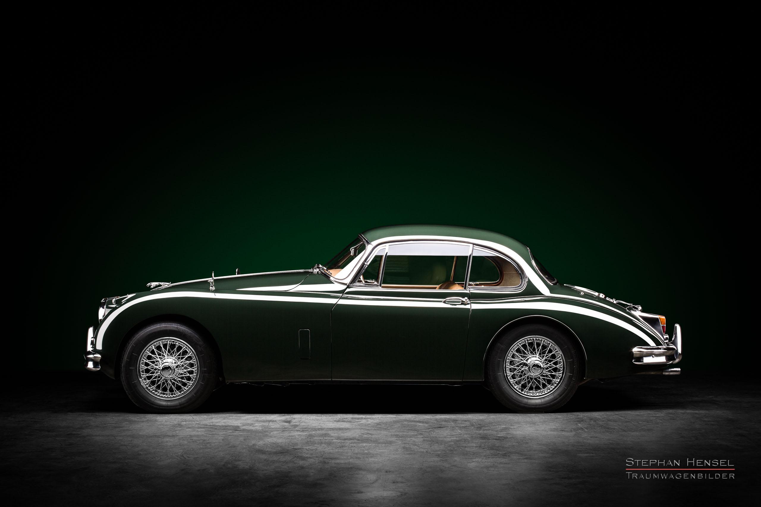 Jaguar XK 150 FHC, 1960, Seitenansicht, Autofotograf, Hamburg, Automobilfotograf, Oldtimerfotograf, Oldtimerfotografie, Car Photography, Stephan Hensel