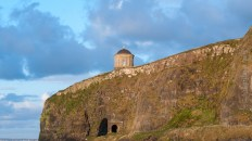 Close-up of Mussenden Temple
