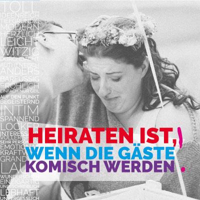 Hochzeitstag Baumwolle von Julia Vanessa Utsch mit der Trautante Friederike Delong