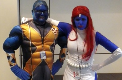 with Mystique