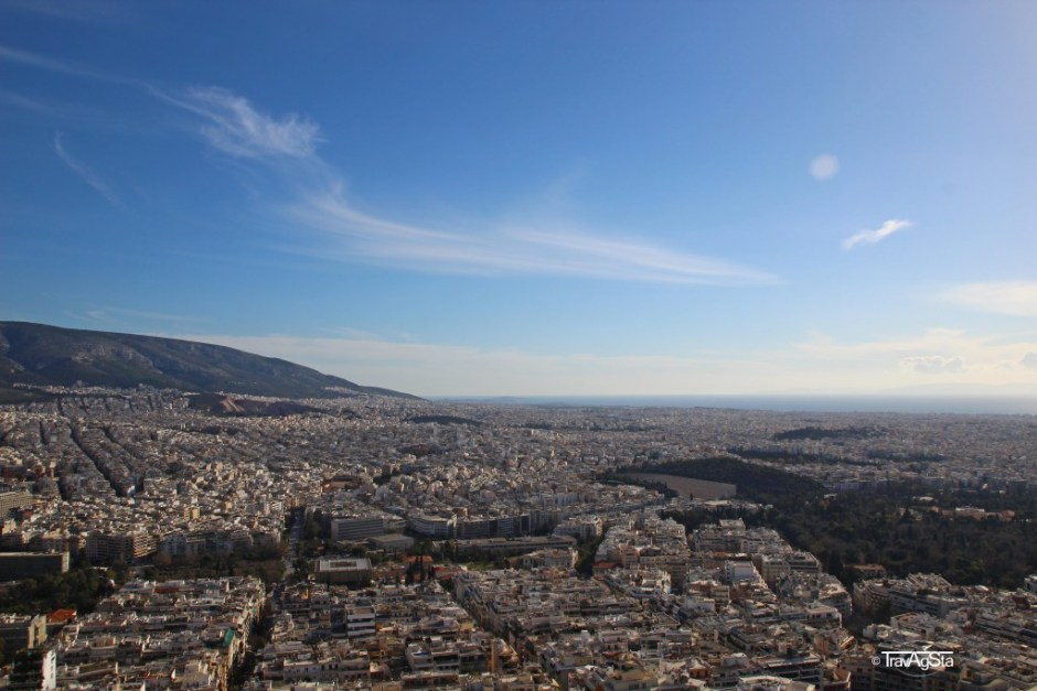 View from Lykabettus, Athens, Greece