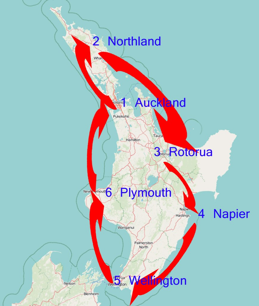 New Zealand's North Island Itinerary