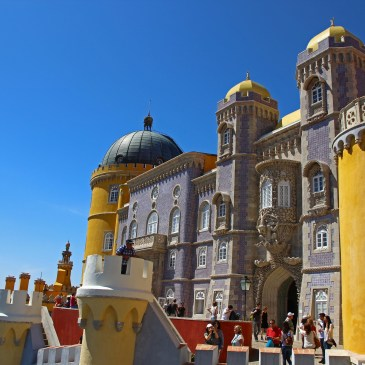 Sintra- a fairytale city!