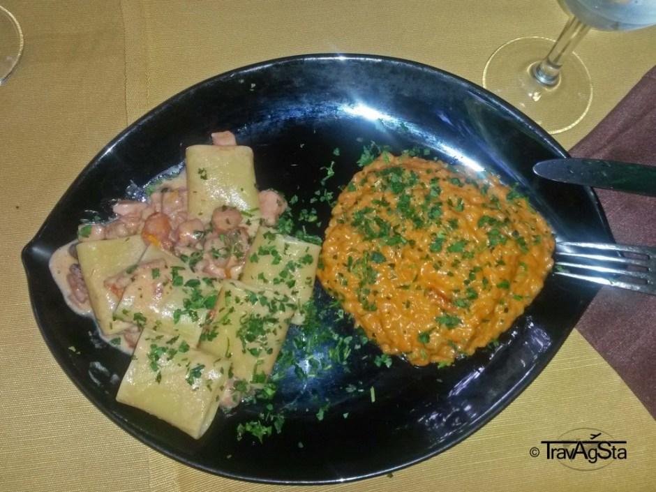 Pasta and Risotto di Frutti di Mare, Italy
