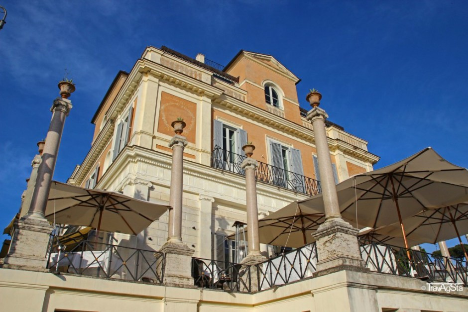 Pincio, Casa Medici, Rome, Italy