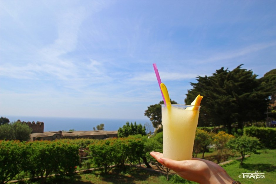 Lemon Juice, Capri, Italy