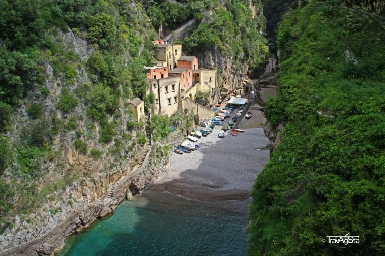 Fuore, View from Bridge, Amalfi Coast, Italy