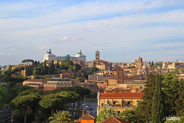 Rome, Giardino degli Aranci