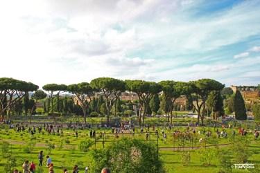 Rome, Giardino degli Aranci, Rosengarten