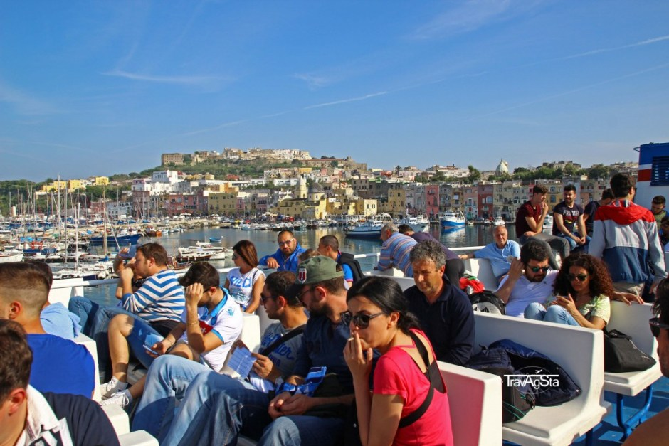 Ferry, Procida, Italy