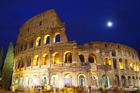 Colosseo by Night, Rome, Italy