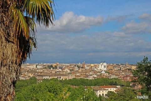 Rome, Piazza Garibaldi Gianicolo (3)t