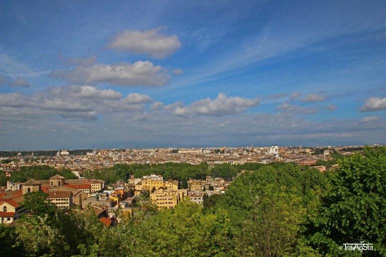 Roma, Piazza Garibaldi Gianicolo (4)t