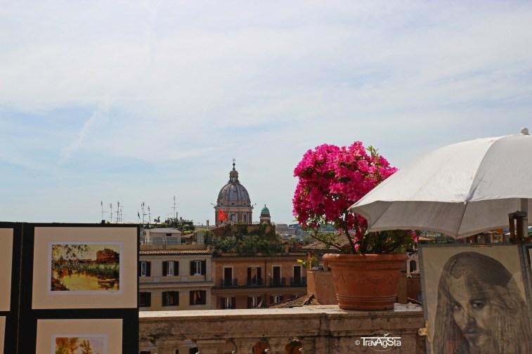 Rome, Piazza di Spagna