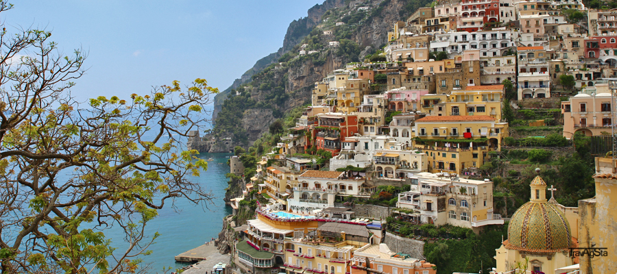 """Regards from the Amalfi Coast!"""