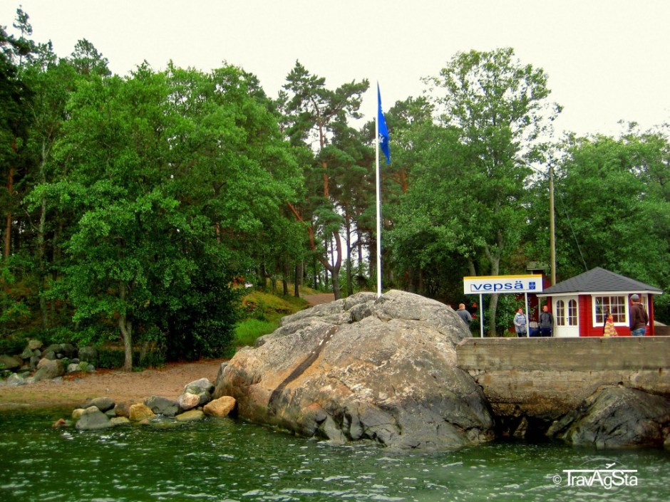 Vepsä, one of the islands of the archipelago