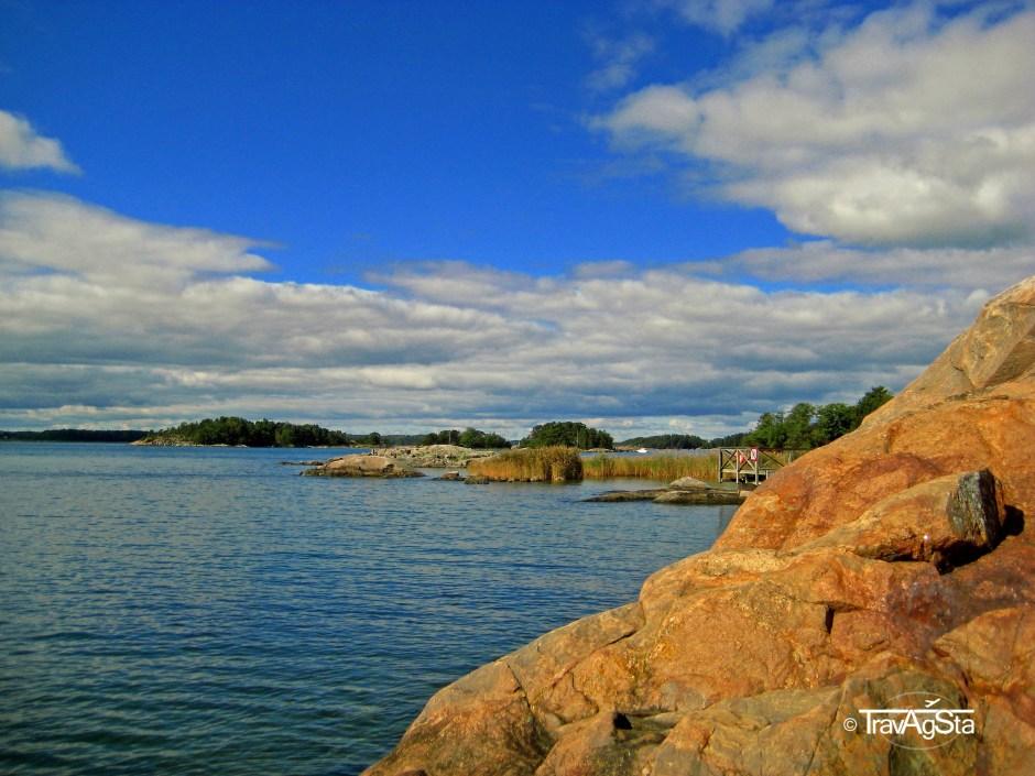 Schären vor der Küste Finnlands