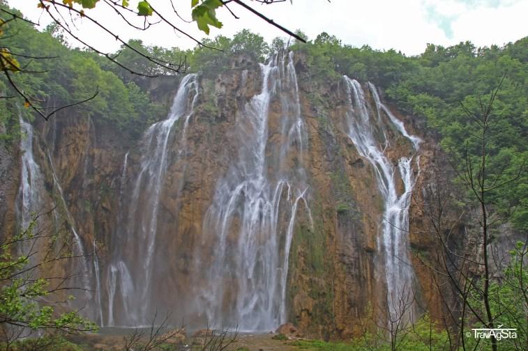 Highest Waterfall, Plitvice Lakes, Croatia