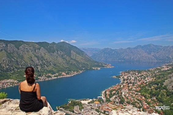 Kotor, Montenegro, Fortress Sveti Ivan