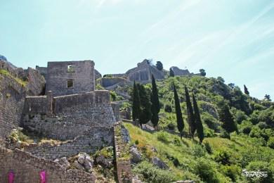 Kotor, Montenegro; Fortress Sveti Ivan
