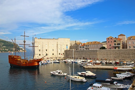 Dubrovnik, Croatia; View from City Wall