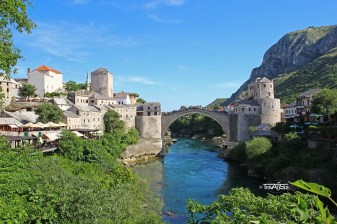 Mostar, Stari Most, View from Mosque